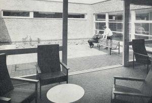 Dayroom And Courtyard
