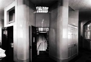 Access From Ward 27 To Spiral Staircase, Tukes Practical Hints 1815.  Image Circa 1963