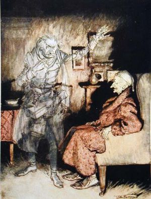 A Christmas Carol, Dickens best loved christmas Novel.