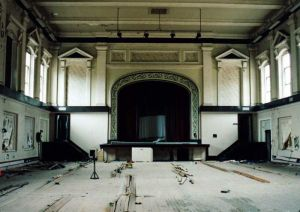 Interior Of Main Hall showing Floor Starting To Warp Due To Dampness