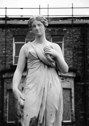 Statue Of Flora Roman Goddess Of Flowers And The Spring Stood Outside Alderson Ward