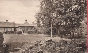 mens quarters manor asylum epsom.