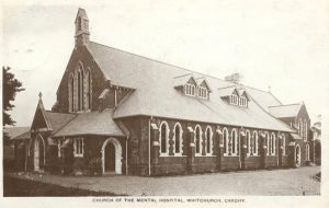 whitchurch mental hospital.