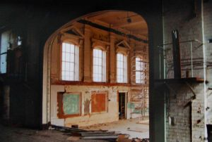 Recreation Hall Undergoing Conversion, 2005