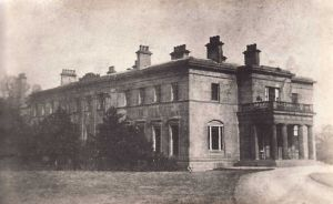 The Hall, Stapleton Park.  On the Acquisition of Stapleton Park Estate by the West Riding Mental Hospitals Board in 1937 the hall was in ruins.Mr G. L. Banner, the clerk to the Board became deeply involved in the running of the Estate.  This image shows the Hall as it was in the early 1900's
