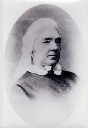 "Harriet Warner Ellis The Daughter In Law And Author Of ""Our Doctor"" 1868"