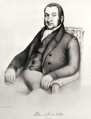 A Portrait Of The first Medical Director was Dr.William Charles Ellis, his wife acting as Matron. Ellis had received some notice from his letter to �Thomas Thompson, M.P.� on the abuses and his suggestion for the amelioration of the treatment of the insane, and there is little attempt that he attempted both at Wakefield and later at Hanwell, where he was also the first Director, to carry into effect the principles he had enunciated. In 1835, he was knighted for his services at the two asylums.