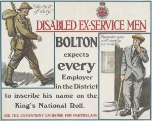National Scheme For The Employment Of Disabled Ex Service Men