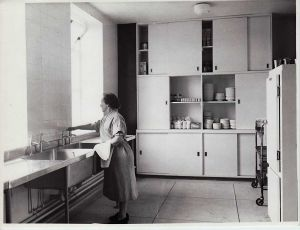 Elm Ward Kitchen After Re Construction 1960's