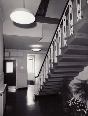 Entrance to Administration after modernisation.1965