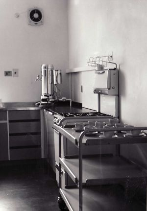Ward Kitchen after modernisation