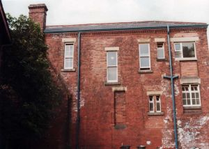 Rear Aspect, Newton Lodge.